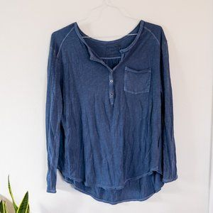 We The Free by Free People Frontier Henley Top
